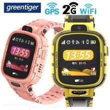 Greentiger TD26 חכם ילדים שעון IP67 עמיד למים GPS WIFI תינוק גשש מצלמה חכם ילדי SOS ניטור מיצוב שעון