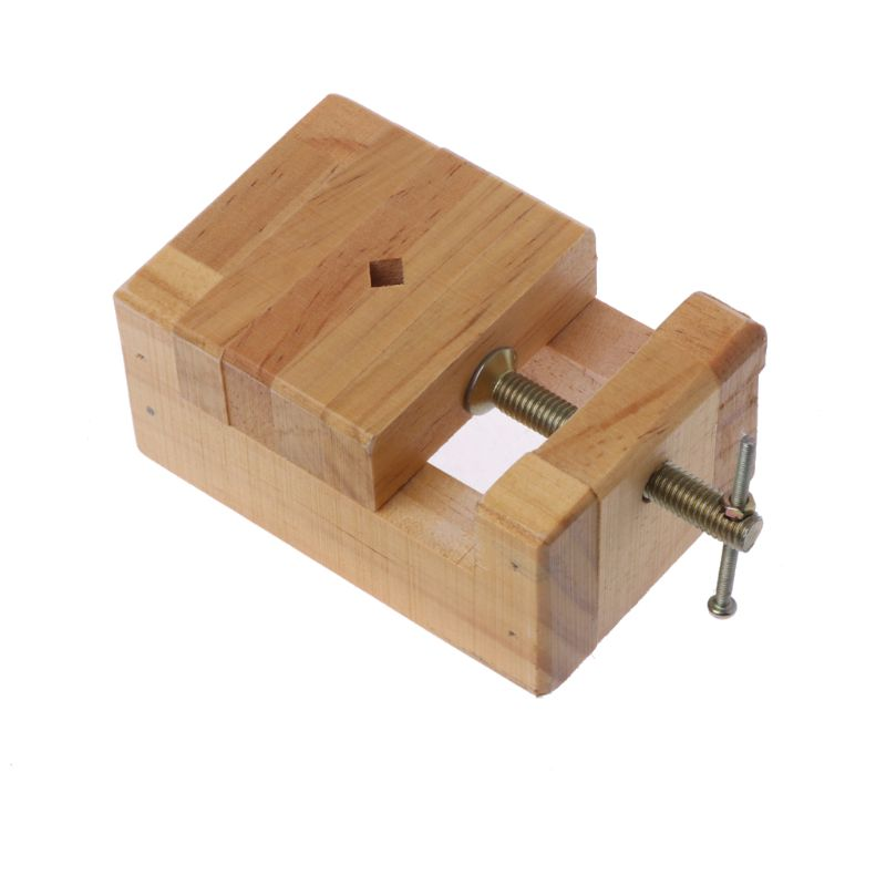 Wood Flat Vise Mini Clamp-on Bench Vise Flat Tongs Woodworking Carving Engraving