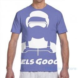 Kid Danger Feels GoooD Blue men T-Shirt women all over print fashion girl t shirt boy tops tees Short Sleeve tshirts