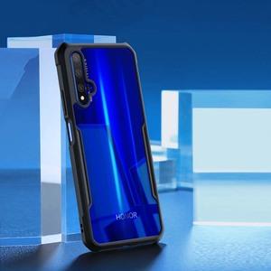 Image 5 - Funda de anillo Xundd para Huawei nova 5t, Airbags de lujo, a prueba de golpes, funda transparente para Honor 20 Pro