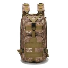 Outdoor Military Backpacks Sports Camping Hiking Trekking Fishing Hunting Bag 600D Nylon 25L Waterproof Tactical Rucksacks