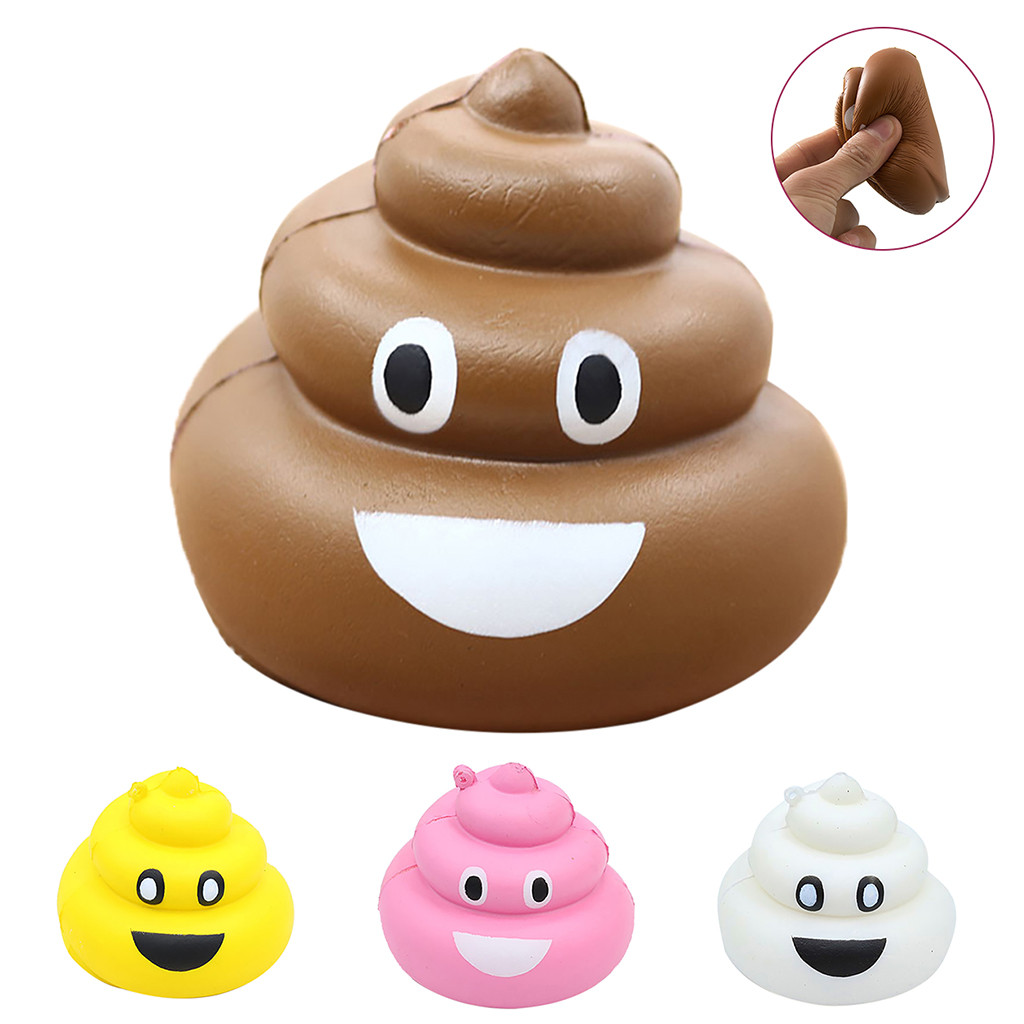Squishy Kawaii Gigantes Soft Squeeze Toys Squishy Slow Rebound Simulation Stool Children Adults Venting Decompression ToysW803