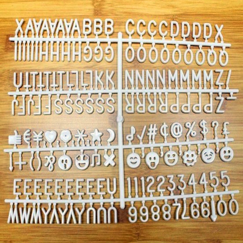 NNRTS Characters For Felt Letter Board 340 Piece Numbers For Changeable Letter Board