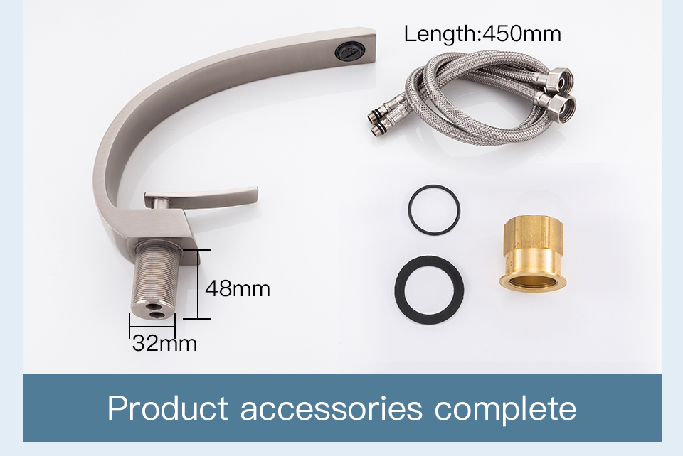Hf1c141649fc2479abaf105e0273a9799W Frap new bath Basin Faucet Brass Chrome Faucet Brush Nickel Sink Mixer Tap Vanity Hot Cold Water Bathroom Faucets y10004/5/6/7