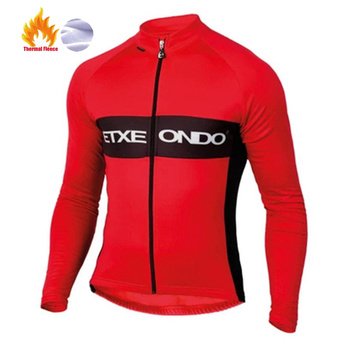 Etxeondo-maillot de ciclismo para invierno, camiseta de manga larga para ciclismo de...