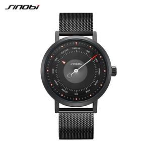 Image 2 - SINOBI Hot Fashion Mens Creative Sport Watch Quartz Clock Casual Military Luminous Waterproof Wrist Watch Relogio Dropshipping