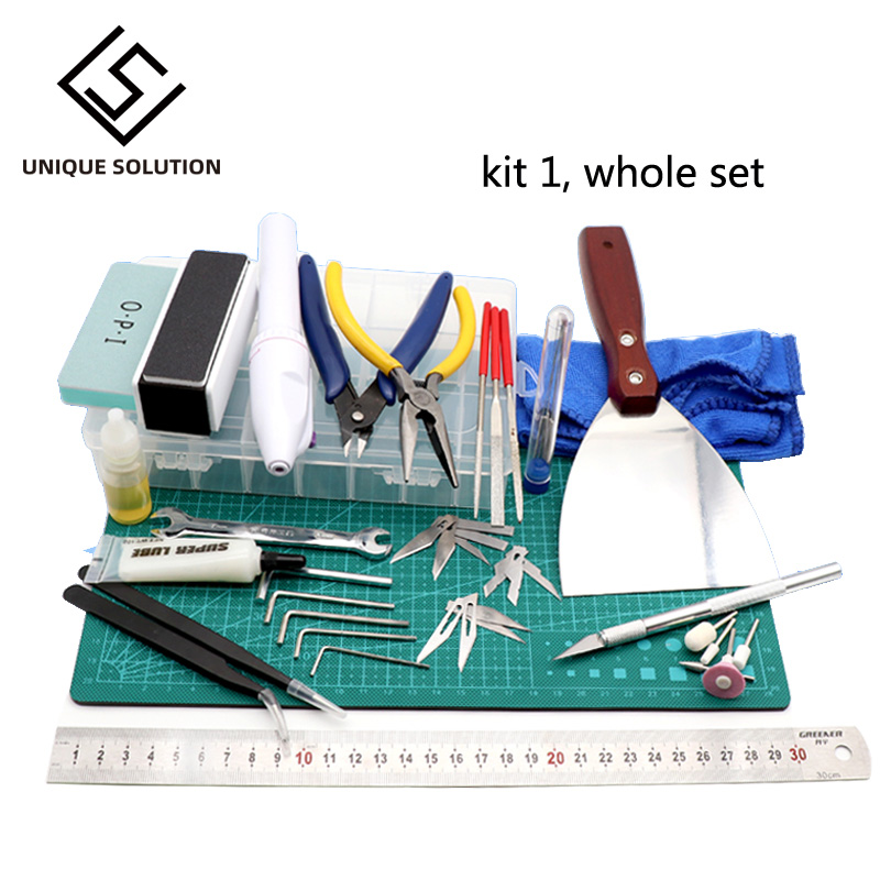 3D printer parts 3D Print Removal Tools kit complete 3D print finishing tool Retouch Use for 3d printer PLA resin printer model|3D Printer Parts & Accessories| |  - title=