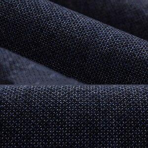 Image 5 - Брендовые классические четырехсезонные высококачественные мужские повседневные брюки HCYX 2019, мужские повседневные брюки, деловые прямые брюки, размер 38
