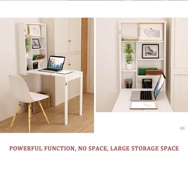 Folding Wall-Mounted Laptop Desk  5