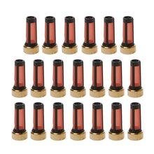 20 шт топливный инжектор микро Корзина Фильтр для audi bmw gmc
