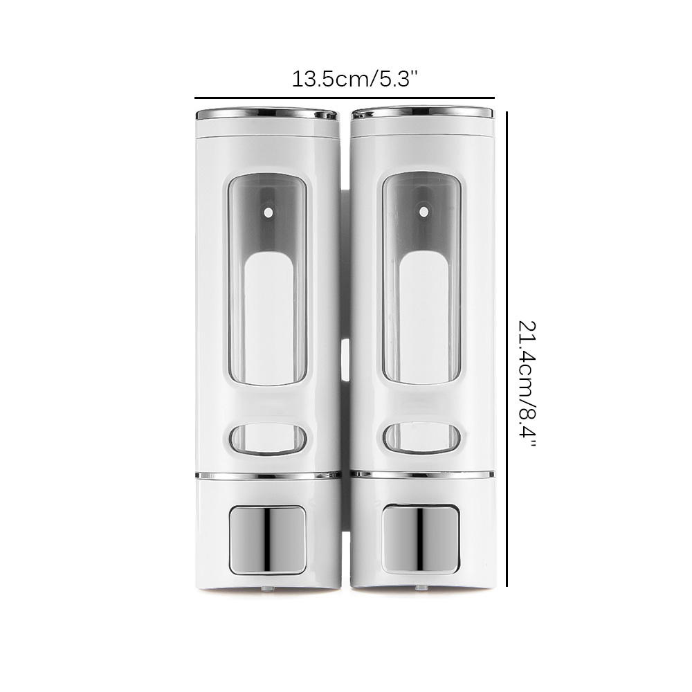 Одиночная/двойная головка для дезинфекции настенный диспенсер 4/800 мл диспенсер для мыла дезинфекционный Диспенсер пластиковый дозатор для...