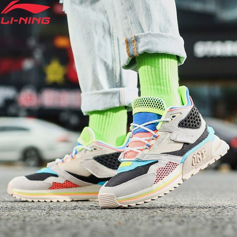 Li-Ning Women 001 T1000 WINTER Lifestyle Shoes Wearable LiNing Li Ning Retro Sport Shoes Dynamic Shell Sneakers AGLP094 YXB330