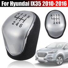 ABS 6 Geschwindigkeit Hand Stick Schaltknauf Shifter Hebel Stick für Hyundai IX35 2010 2011 2012 2013 2014 2015 2016