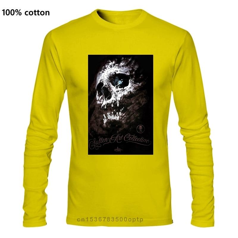 Мужская футболка Sullen с черепом holбеспорядка, черная Татуированная футболка, одежда, гордость существа, футболки