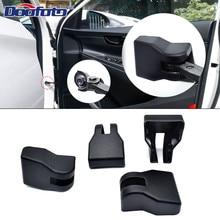 Doofoto 4x Car Door Limiting Stopper Cover For Hyundai ix25 ix35 Kona i30 Solaris i20 2019 Protective Accessories