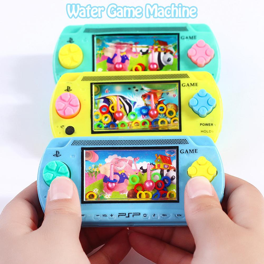 New Water Circle Ring Machine Nostalgic Childhood Classic Nostalgic Children's Water Game Machine Kid Toy Random Color