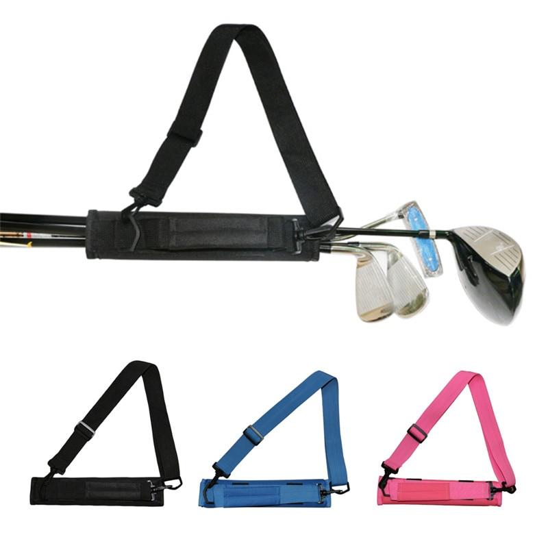 Portable Foldable Mini Golf Club Bag Men Women Kids Driving Range Golf Bag Practical Capacity Packed 3-6 Clubs Golf Staff Bag