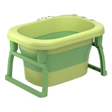 Foldable Baby BathTub Eco-Friendly Infant Baby Shower Tub With Non-slip Folding Toddler Bath Tub Children's Bathtub