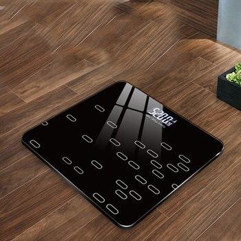 Escala de peso do corpo eletrônico e seco escala de bateria doméstica pesando escala precisa adulto childhealth pesando escala eletrônica