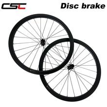 CSC 700C циклокросс гравий велосипед T800 углеродная колесная дорога дисковый тормоз 6 Болт Центральный замок прямой тяга 24/38/50/60/88 мм колеса