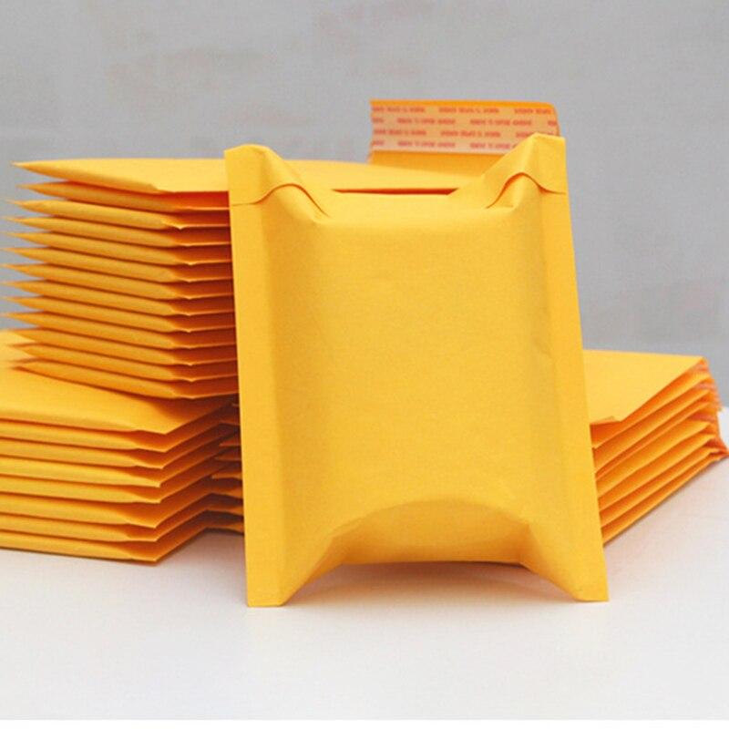 5 шт./лот, пакеты-конверты из крафт-бумаги с пузырьками
