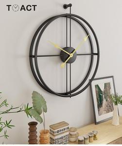 Image 4 - 55 ซม.ขนาดใหญ่ Wall CLOCK ออกแบบโมเดิร์นนาฬิกาสำหรับตกแต่งบ้านนาฬิกาใหญ่สำนักงานยุโรปแขวนผนังนาฬิกาคริสต์มาสของขวัญ