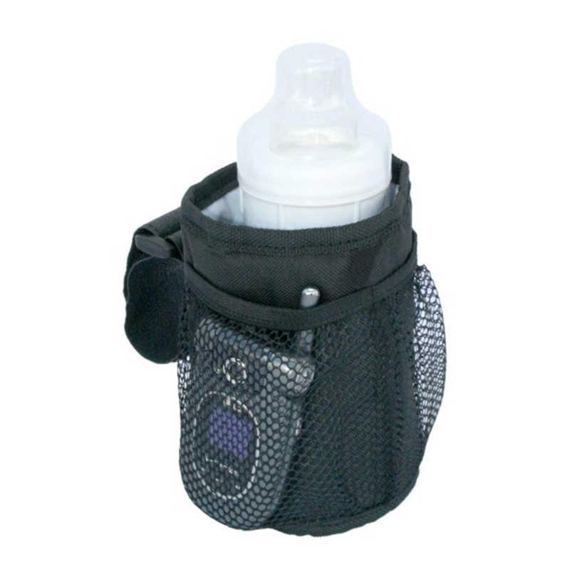 Soporte de botella para cochecito de bebé soporte de taza de bebida especial taza para padres bolsa de taza de diseño resistente al agua cochecitos de bicicleta bolsa de botella Universal