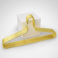 Tragbare Rose Gold Kleiderbügel Eisen Runde Quadratische Form Nordic stil Wand Haken Lagerung Rack Für Kleidung Krawatte Handtuch Organizer Werkzeug-in Kleiderbügel & Gestelle aus Heim und Garten bei