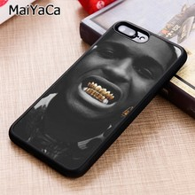 MaiYaCa ASAP Rocky Hip Hop Rapper Gold Phone Case Cover For iPhone 5 6s 7 8 plus 11 pro X XR XS max Samsung S6 S7 S8 S9 S10(China)