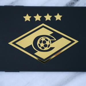 Metal Decals Car-Stickers Spartacus Nickel for Laptop 3D Cool CK3399 9--7cm