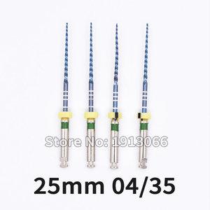 Image 5 - שיניים מכשיר 04 06 להתחדד חום הפעלה כחול קבצי מנוע להשתמש רוטרי קבצי endondontic שורש NITI רופא שיניים כלי
