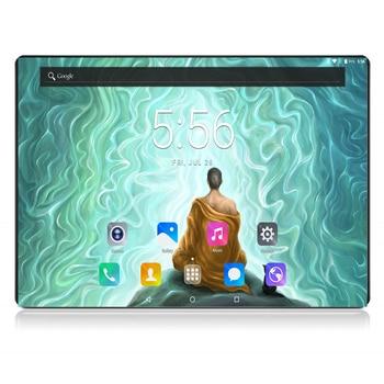 """2020 Black 6GB RAM 128GB ROM Gaming Tablet Octa Core 10"""" 8MP 1920x1200 Full Screen Dual 2.5D Glass WIFI 4G FDD LTE Phone Pad"""
