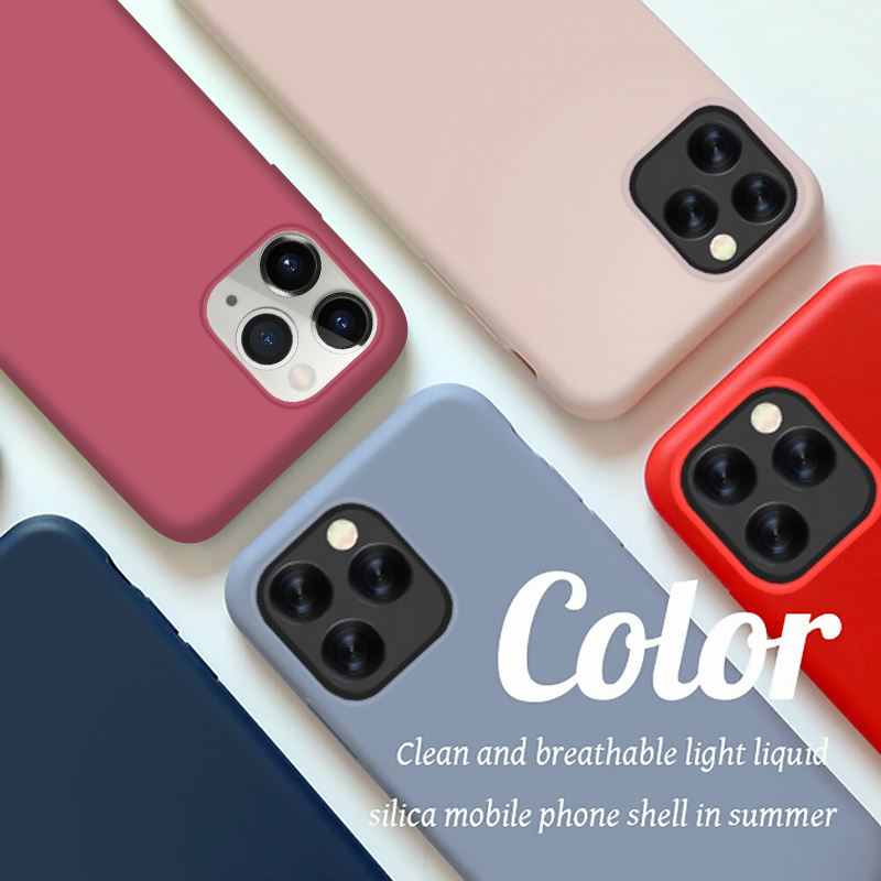 Original official Liquid <font><b>Silicone</b></font> <font><b>Case</b></font> For <font><b>iphone</b></font> 11 7 8 X 6 S <font><b>6S</b></font> Plus <font><b>Case</b></font> for <font><b>iPhone</b></font> XR XS 11 Pro MAX Soft Cover With <font><b>logo</b></font> image