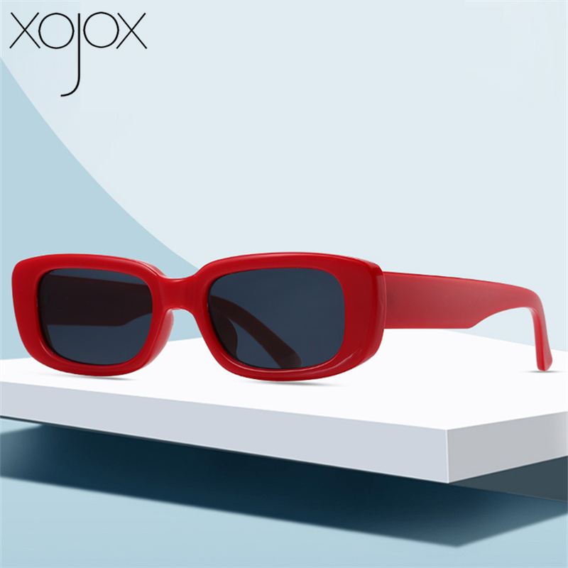 XojoX Vintage Sunglasses Women Luxury Brand Design Sun Glasses  Men Square Eyeglasses Personality Shades For Women UV400 Goggles