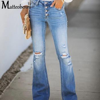 2020 nowe zgrywanie wysokiej talii jeansy Retro dla kobiet dżinsy dla mamy spodnie dżinsowe Femme chłopaka luźne dżinsy z dziurami spodnie damskie dżinsy tanie i dobre opinie Matteobenni COTTON Poliester Pełnej długości CN (pochodzenie) Osób w wieku 18-35 lat 2020 Fashion OZX-CF087A WOMEN Styl uliczny