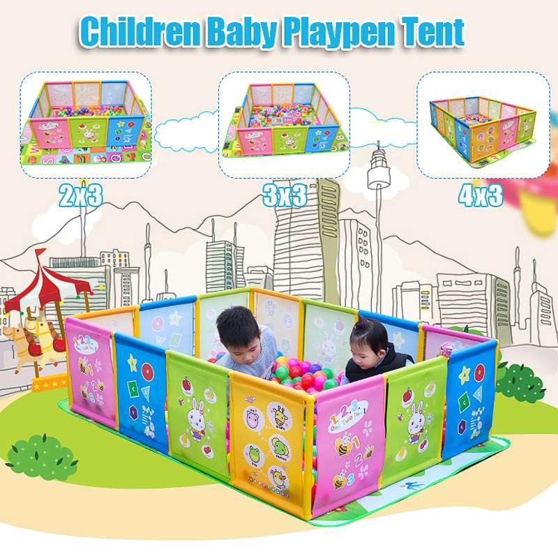 Baby Playpen Pool Balls For Newborn Baby Toddler Craw Fence Playpen For Baby Pool Children Playpen Kids Safety Barrier Game