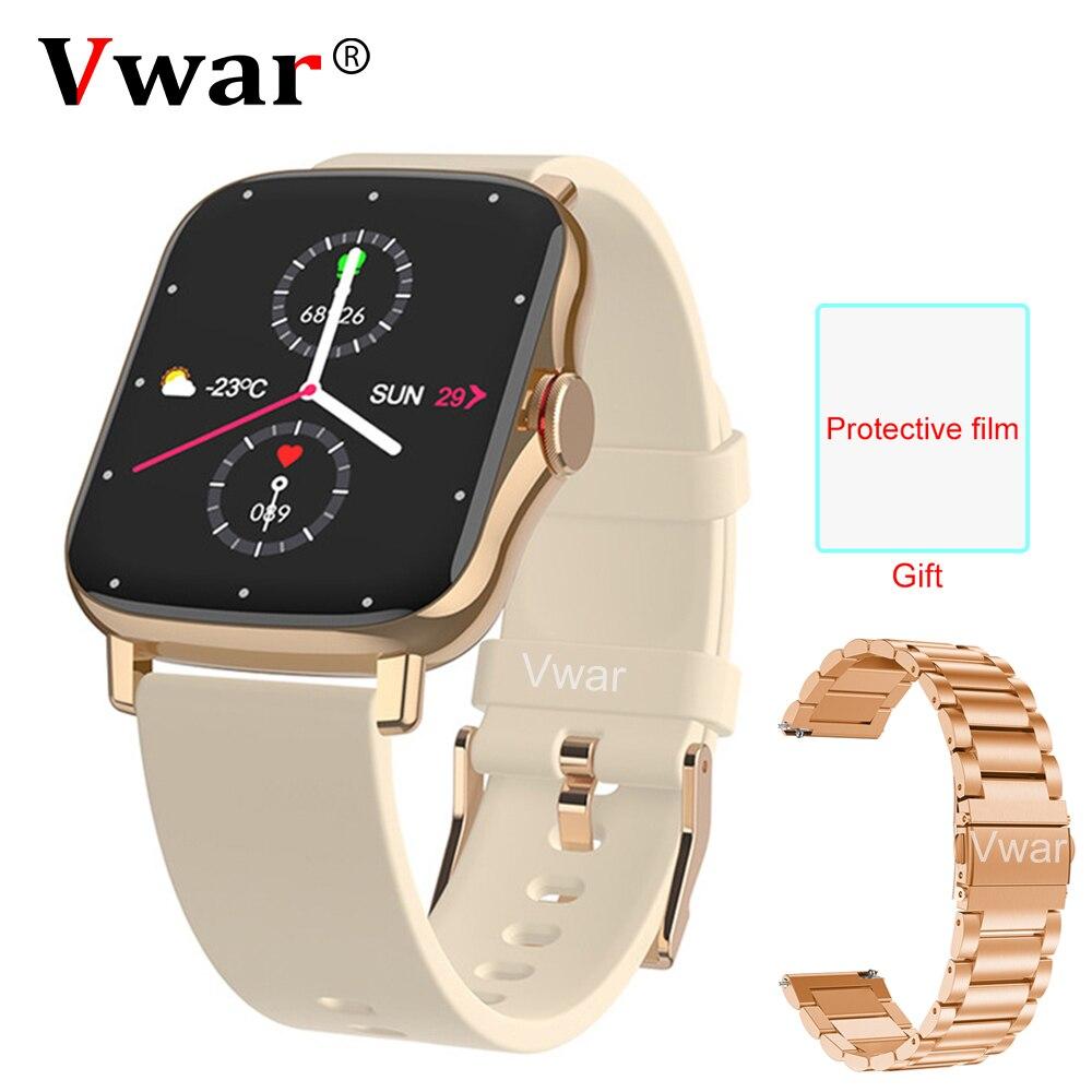 2021 Vwar GTS 2 Bluetooth Вызов Смарт-часы водонепроницаемый фитнес-трекер монитор сердечного ритма GTS2 Мини Смарт-часы для Xiaomi IOS