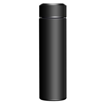 Inteligentny kubek izolowany bidon Led cyfrowy wyświetlacz temperatury kubki termiczne ze stali nierdzewnej inteligentny kubek izolowany s 500ML tanie i dobre opinie CN (pochodzenie) STAINLESS STEEL Normalne Termosy próżniowe termosy i Prosty kubek Kolby próżniowe 12-24 godziny
