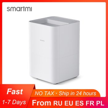 Smartmi Pure Humidifier Waterless Mist Evaporation Suitable for allergic people 4L Large Water Tank Work With Mijia APP