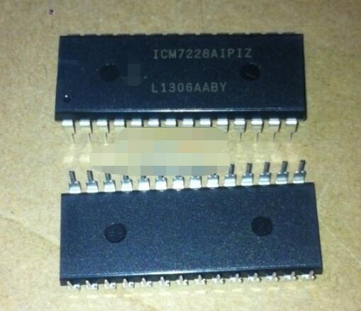 Free Shipping  20 Pcs ICM7228AIPIZ ICM7228AIPI ICM7228A ICM7228 DIP28