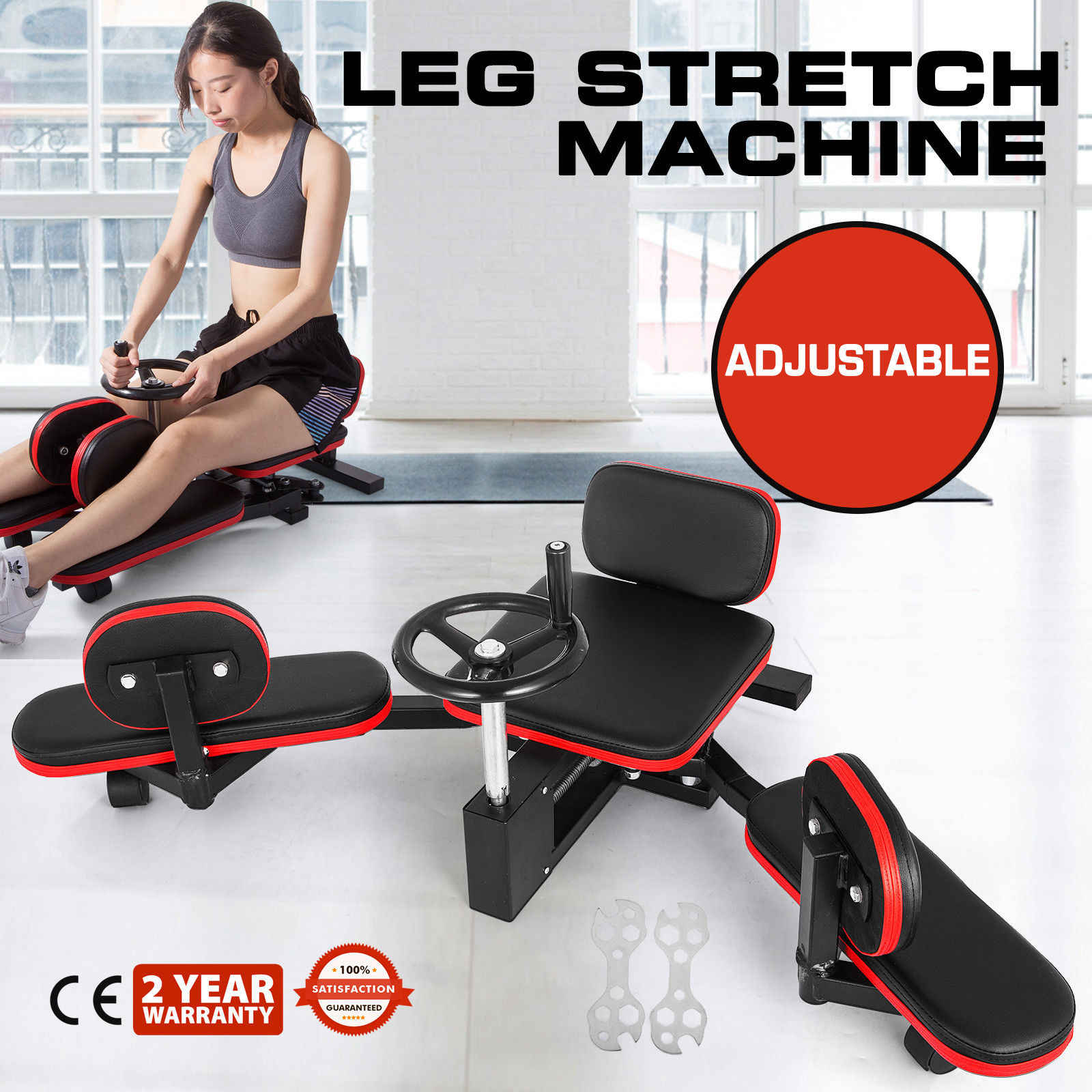 Split Trainer Helper Leg Split Stretching Machine Helper Improve Leg Splits Training Comfort Leg Machine Helper Speed Up The Leg Splits Training GLWAD Leg Stretcher Helper Leg Open Helper