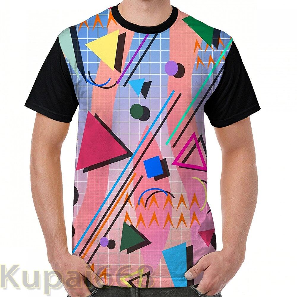 Camiseta con estampado 3D para hombre y mujer, estampado retro, camiseta casual y cómoda todos los días 2021