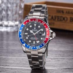 Мужские часы Топ бренд класса люкс Tonneau чехол Tourbillon автоматические механические мужские часы кожаный ремешок наручные часы 8732
