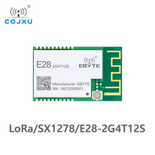 E28 2G4T12S SX1280 LoRa Module BLE 2.4GHz Wireless Transceiver 12.5dBm 3.0km UART Module LoRa Transmitter Receiver