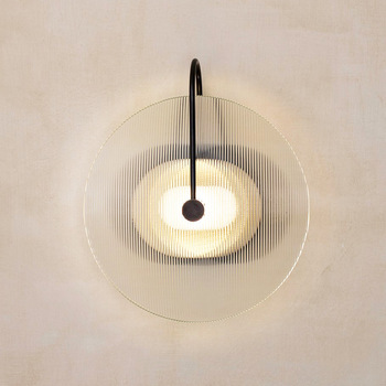 لوفت مصباح غرفة نوم كريستال الممر السرير الممر إسبلو كابيسيرو دي كاما-في مصابيح الجدار الداخلي LED من مصابيح وإضاءات على