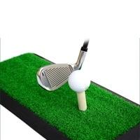 Backyard Golf Mat Golf Training Aids Outdoor/Indoor Hitting Pad Practice Grass Mats Game Golf Training Mat Rubber Grassroots