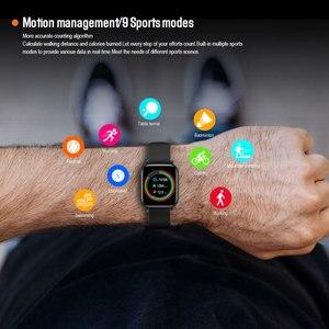 Image 2 - VERYFiTEK Q10 สมาร์ทนาฬิกา Heart Rate Monitor กันน้ำผู้หญิง Smartwatch K P68 P70 B57 Q9 IWO