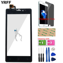 Phone Touch Screen For Prestigio Wize C3 PSP 3503 DUO PSP3503 Digitizer Front Glass Panel Sensor Tools Protector Film(China)