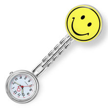 Часы наручные smiley для медсестер свисающие с узором улыбки