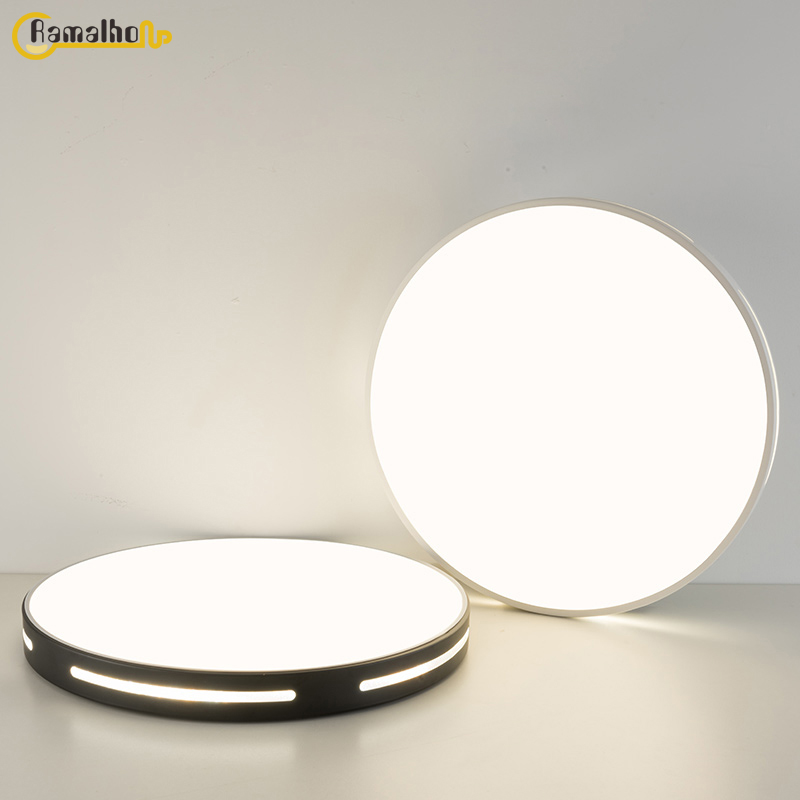 Круглый потолочный светильник, современный светодиодный потолочный светильник, светильник для гостиной, светильник для спальни, лампы для